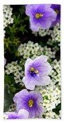 Flowers Etc Hand Towel