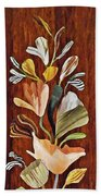 Flowers For Catherine Bath Towel