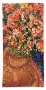 Flowers For Mary Bath Towel