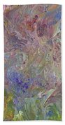Flowers In The Wind Hand Towel
