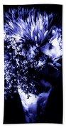 Flowers In Velvety Tones Bath Towel