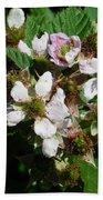 Flowers Of Berries Bath Towel