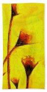 Flowers Of Love  - Van Gogh -  - Pa Bath Towel