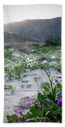 Flowers Of Ocotilla Bath Towel