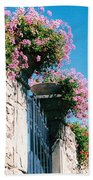 Flowers Of Panzano Photograph Bath Towel