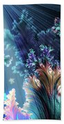 Flowers Of The Sea Bath Towel