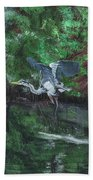 Fly Me Away To Little River Bath Towel