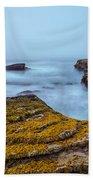 Fog And The Sea Bath Towel