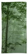Fog In The Forest Bath Towel