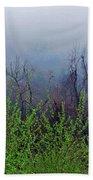 Fog In The Mountains Bath Towel