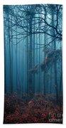 Foggy Forest Bath Towel