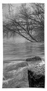 Foggy River Bath Towel