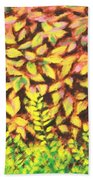 Foliage 1 Bath Towel