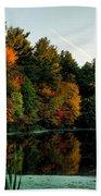 Foliage Reflections Bath Towel