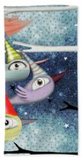 Following The Stars Bath Towel