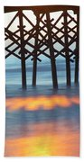 Folly Beach Abstract Bath Towel
