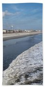 Folly Beach Charleston Sc Bath Towel