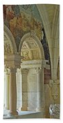 Fontevraud Abbey Refectory, Loire, France Bath Towel