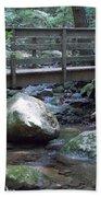 Foot Bridge Over Notch Brook Bath Towel