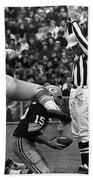 Football Game, 1965 Bath Towel