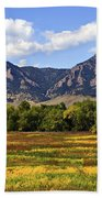 Foothills Of Colorado Bath Towel