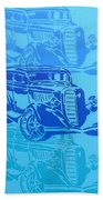 Ford Coupe 34 Bath Towel