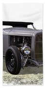 Ford Hot Rod Roadster Bath Towel