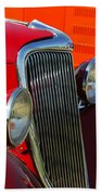 Ford Roadster Grille Hand Towel