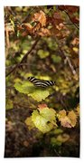 Forest Butterfly Hand Towel