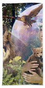 Forest Friends 2 Bath Towel