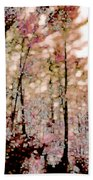 Forest In Autumn Bath Towel