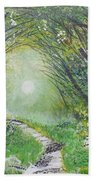Forest In Spring Bath Towel