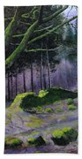 Forest In Wales Bath Towel