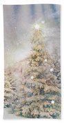 Forest Of Trees In The Light Bath Towel