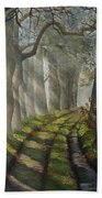 Forest Pathway Bath Towel