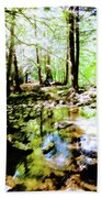 Forest People Bath Towel