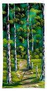Forest Trail Bath Towel