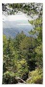 Forest View From Mt Tamalpais Bath Towel