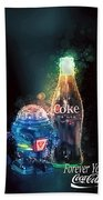 Forever Young Coca-cola Bath Towel by James Sage