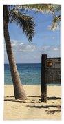 Fort Lauderdale Beach Hand Towel