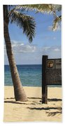 Fort Lauderdale Beach Bath Towel