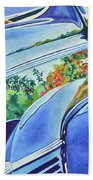 Forty Ford In Fall Bath Towel