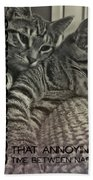 Forty Winks Quote Bath Sheet
