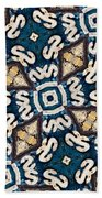 Fossil Road Mosaic Bath Towel