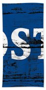 Fosters Beer Sign 3a Bath Towel