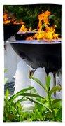 Fountains Of Fire Bath Towel
