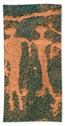 Four Anasazi Bath Towel