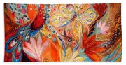 Four Elements IIi. Fire Hand Towel