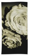 Four Roses Bath Towel