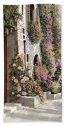 four seasons- spring in Tuscany Bath Towel